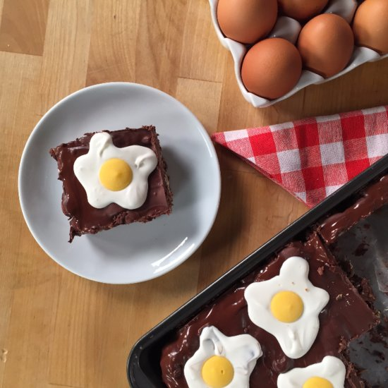 No-Bake Easter Rocky Road
