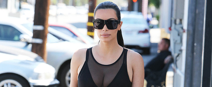 Here's Your Daily Dose of Kim Kardashian's Curves