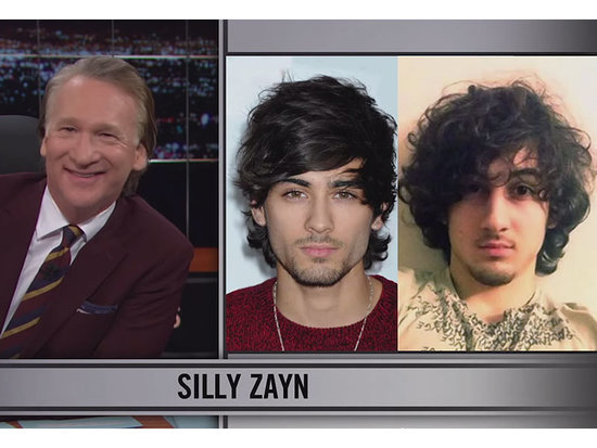 Bill Maher Accused of Racism After Comparing Zayn Malik to the Boston Marathon Bomber