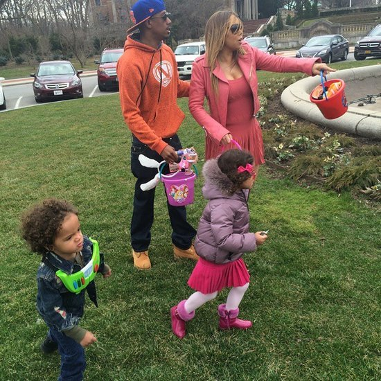 Mariah Carey and Nick Cannon With Kids on Easter 2015