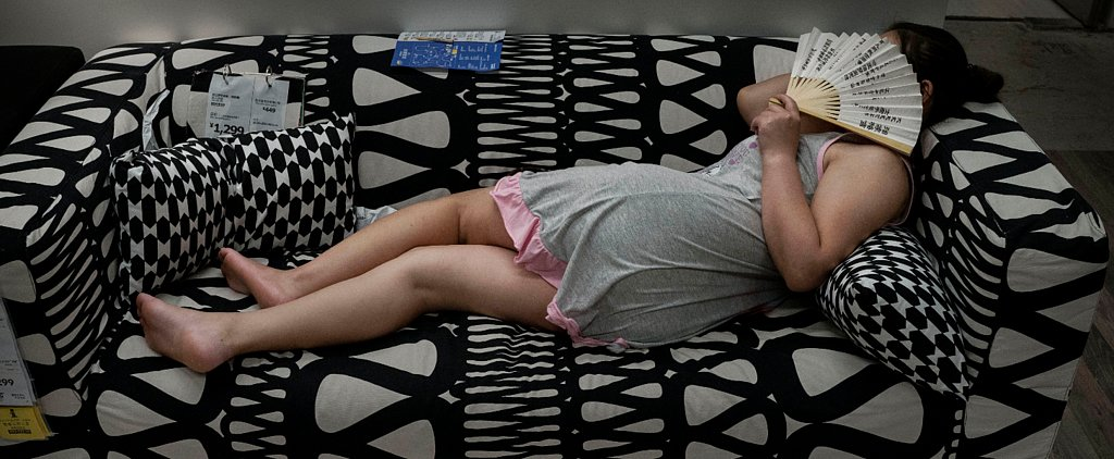 Beijing Ikea No Longer Willing to Serve as Napping Hot Spot