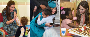 34 Snaps of Kate Middleton With Little Girls That Are Sure to Make Your Heart Explode