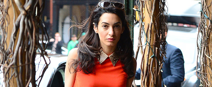 Mrs. Clooney's Latest Look Is Straight Out of Mad Men