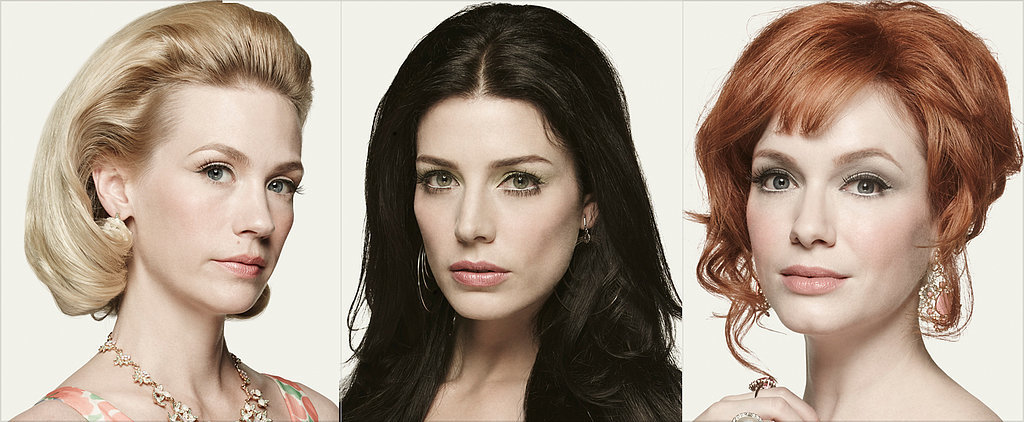 See the Mad Men Ladies' Beauty Evolutions