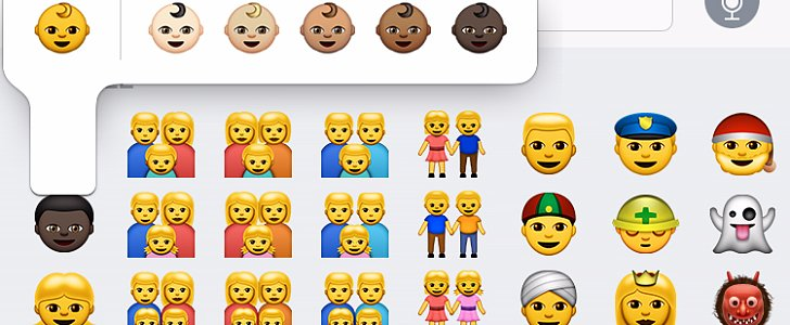 Diverse Emoji Are Finally Here — but Something's Messed Up