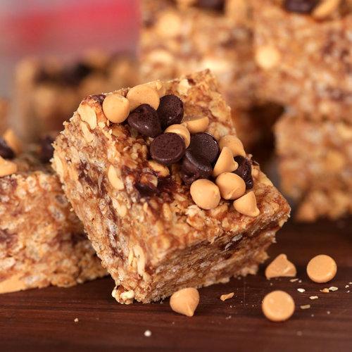 No-Bake Chocolate and Peanut Butter Granola Bars | POPSUGAR Food