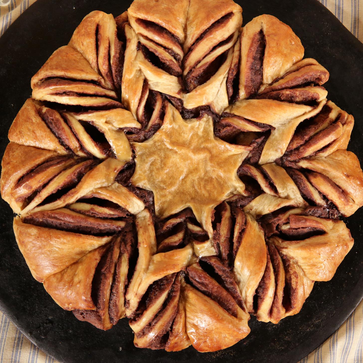 Braided Nutella Croissant Bread | POPSUGAR Food