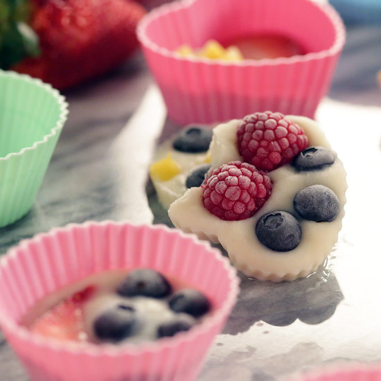 Frozen Yogurt Fruit Bites