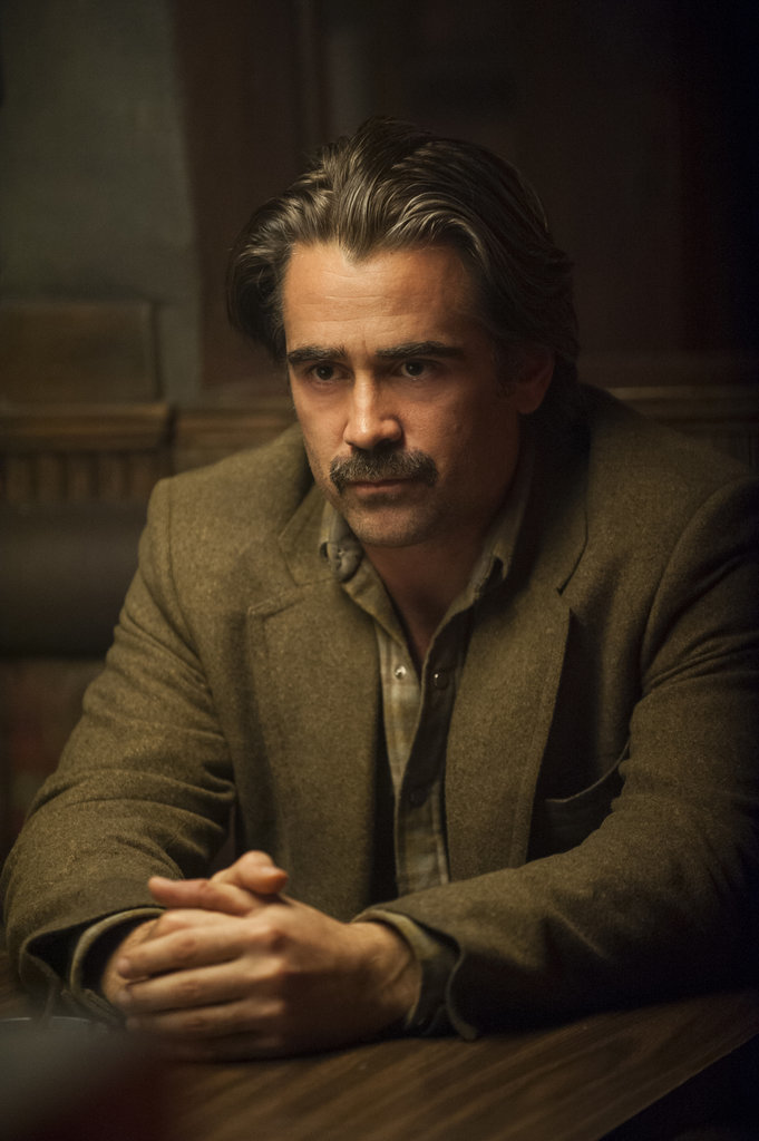 "Colin Farrell as Ray Velcoro, ""a compromised detective in the all-industrial City of Vinci, L.A. County."""