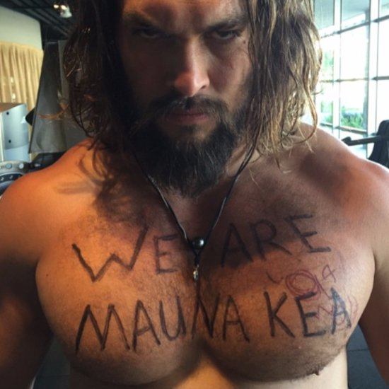"Jason Momoa's ""We Are Mauna Kea"" Social Media Campaign"