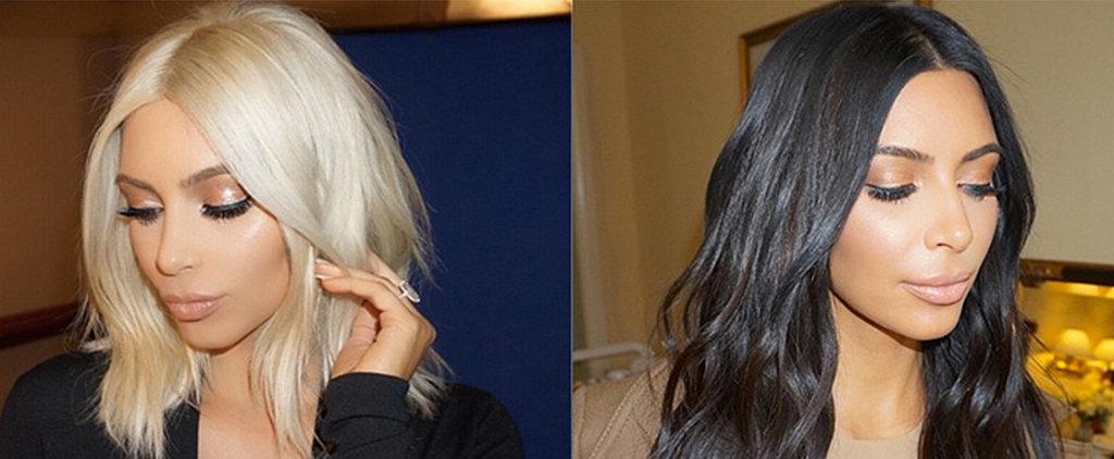 Why Kim Kardashian Will Be Wearing Hair Extensions Tonight