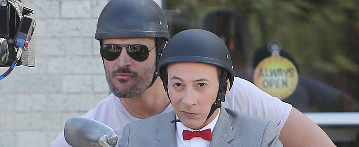 Joe Manganiello Has Joined Pee-wee's Big Holiday! See the Pictures
