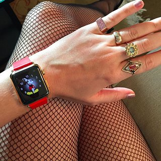 Celebrities With Apple Watch
