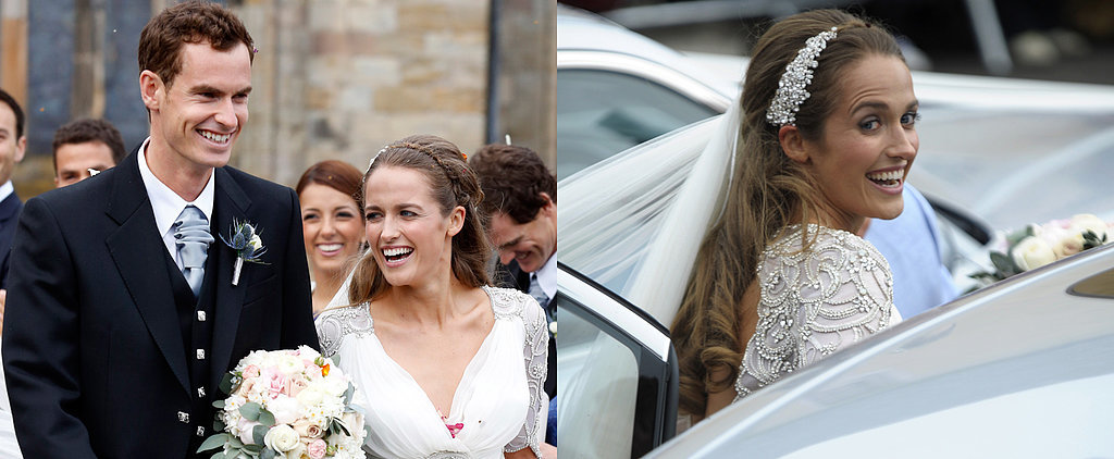 Tennis Star Andy Murray Marries Kim Sears in a Picture-Perfect Wedding