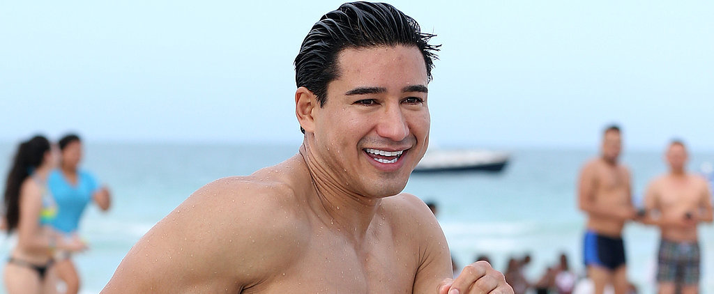 Shirtless Mario Lopez Still Has the Muscles to Make Your Jaw Drop