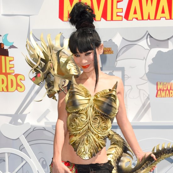 Bai Ling's Dress at the MTV Movie Awards 2015