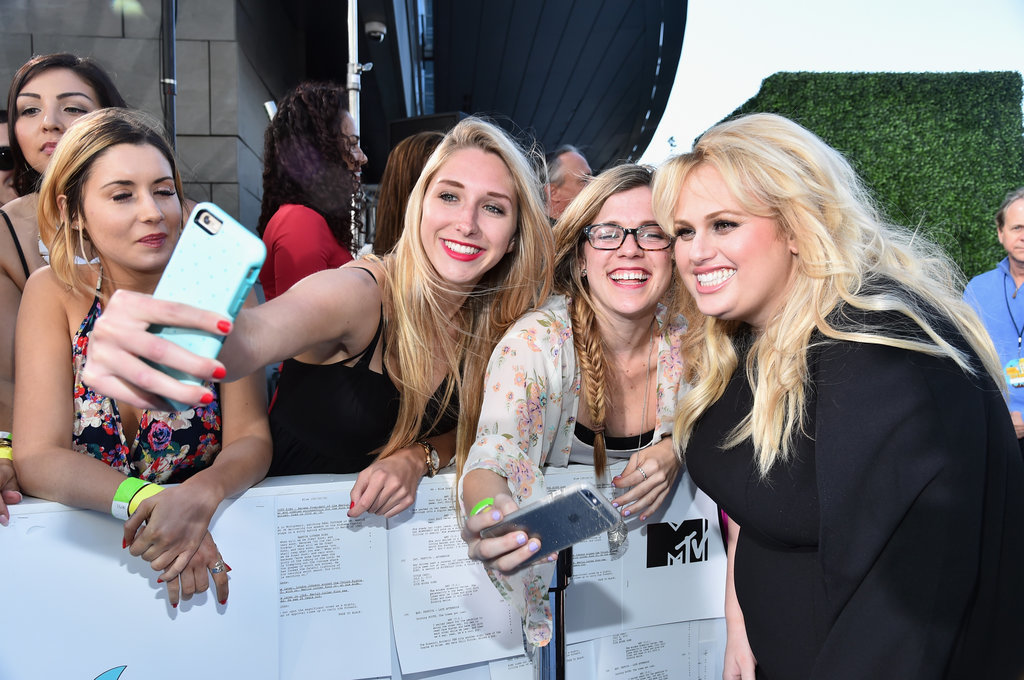 Photo of Rebel Wilson & her friend   -