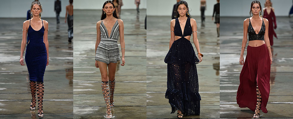 Just In: Models Walk on Water at Bec & Bridge MBFWA Runway Show