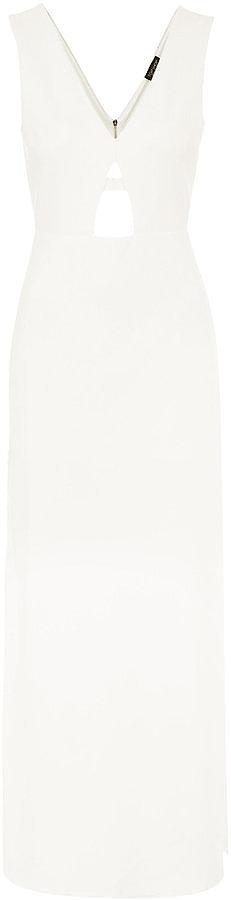 Topshop Plunge Maxi Dress ($95)