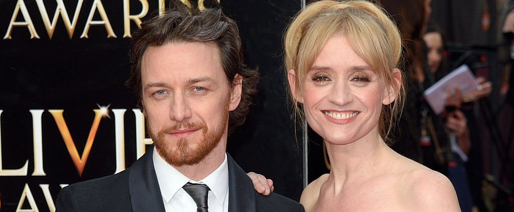 James McAvoy Takes His Wife to the Olivier Awards