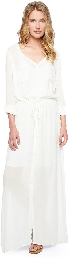 Splendid Kaftan Shirt Dress ($198)