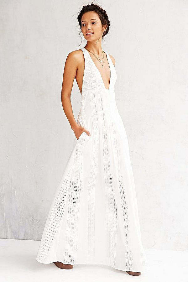 The Jetset Diaries North of Fira Maxi Dress ($268)