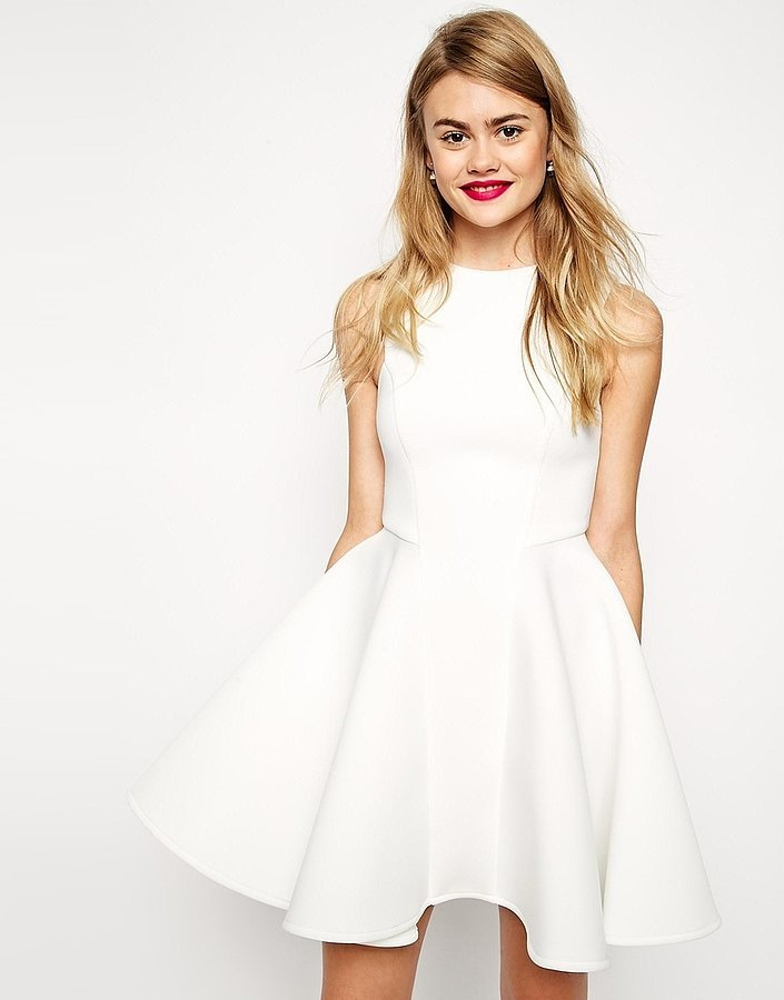 ASOS Collection Premium Bonded Fit and Flare Dress ($118)