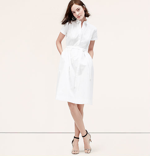 Loft Softened Shirtdress ($80)