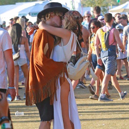 Gigi Hadid and Cody Simpson Coachella PDA 2015