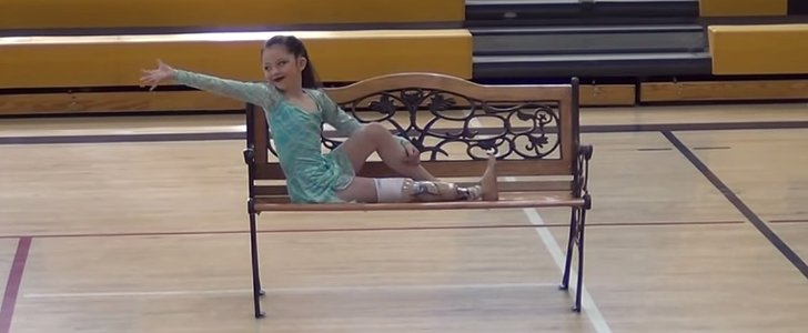 Watch This Little Girl Who's Missing Part of Her Leg Perform the Dance of a Lifetime