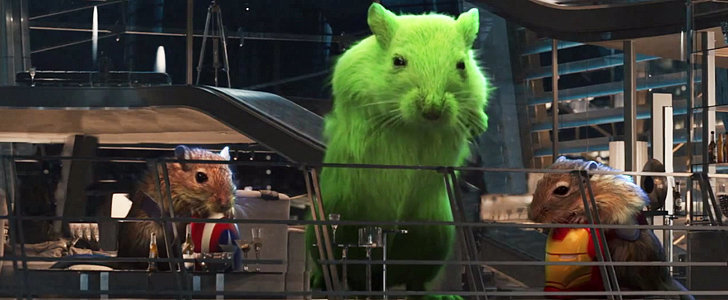 Jimmy Kimmel Live Presents Avengers: Age of Ultron — With Gerbils