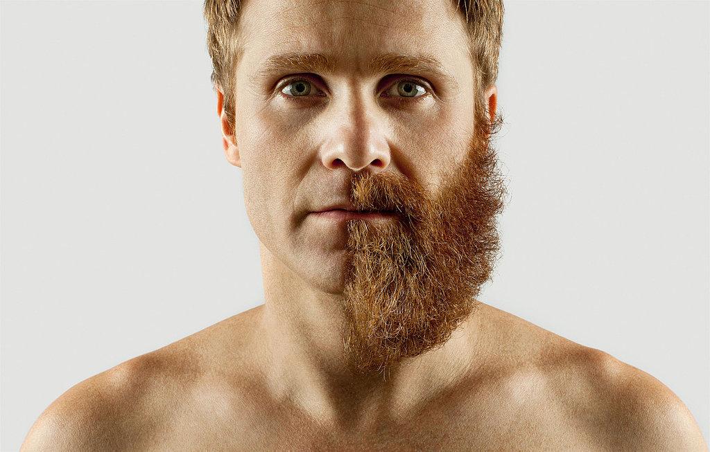 Half Beard Photos | POPSUGAR Beauty