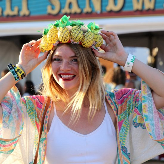 Coachella Street Style Hair and Makeup Inspiration