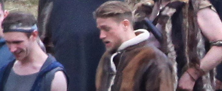 Charlie Hunnam Alert! See Him on the Set of His Upcoming Movie