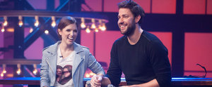 Anna Kendrick Makes John Krasinski Crack Up With Her One Direction Lip Sync