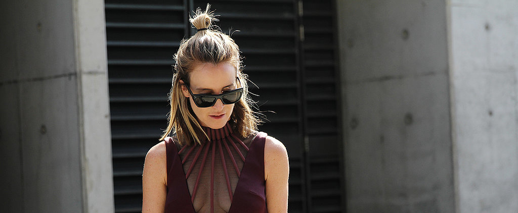 The Cool Girl Hairstyle That Dominated Street Style at MBFWA
