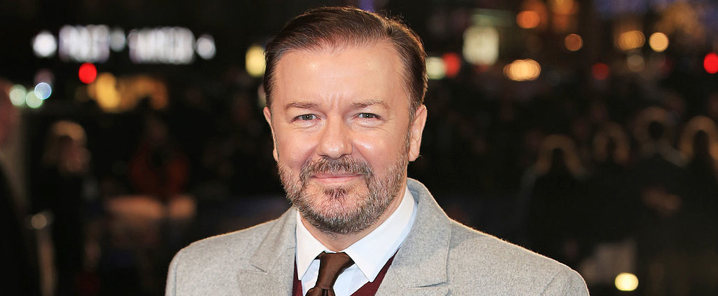 Ricky Gervais Slams Woman For Her Smiling Photo With a Dead Giraffe