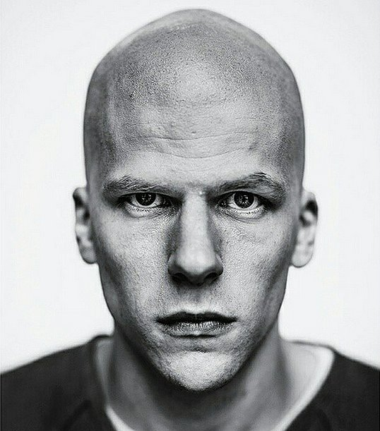 A look at Jesse Eisenberg as villain Lex Luthor!