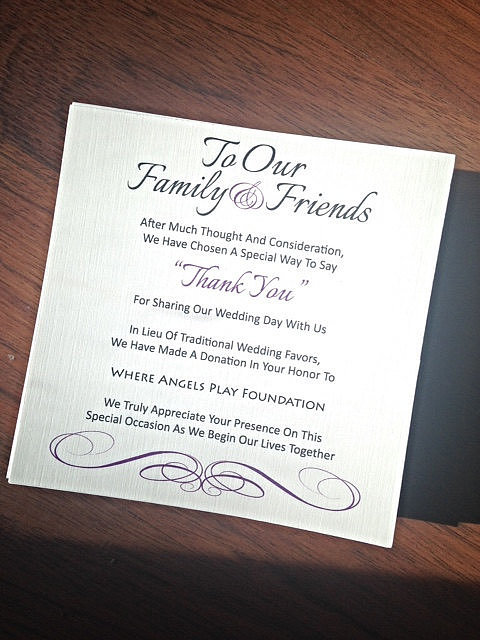 Wedding Gift Poem Charity : Donations 45 Wedding Favors Your Guests Will Actually Use POPSUGAR ...