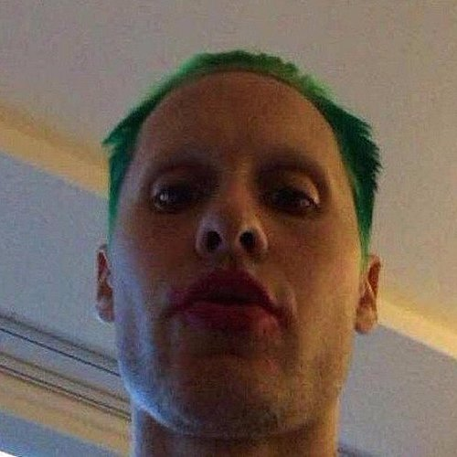 Jared Leto's Green Hair | 2015