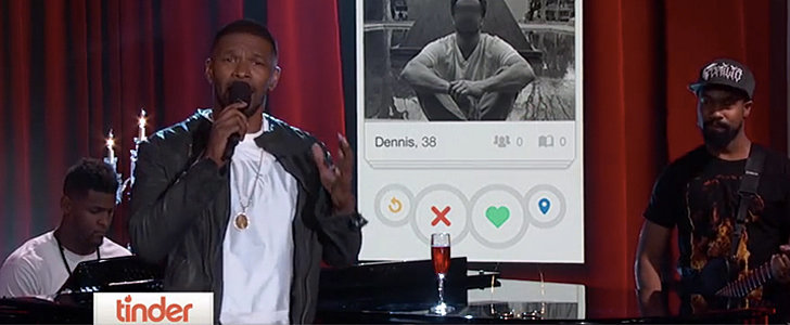 Jamie Foxx Singing Tinder Profiles Is the Funniest Thing You'll See Today