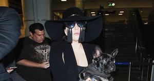 Lady Gaga Wore a Pair of Masochistic Sunglasses