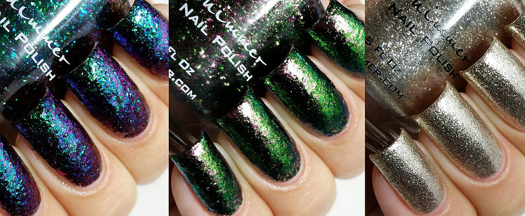 You'll Be Obsessed With These Glittery, Color-Changing Nail Polishes