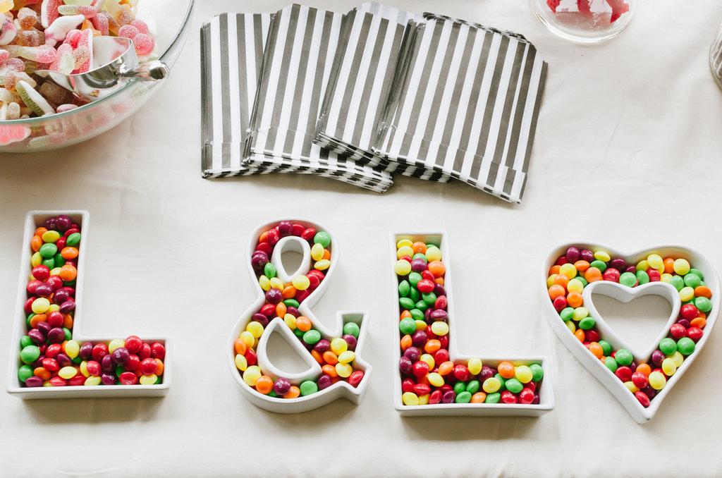 DIY Candy Buffet