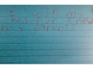 Third Graders Heartbreakingly Finish the Sentence 'I Wish My Teacher Knew ...'