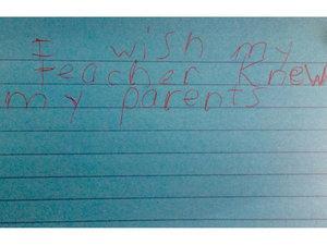 Third Graders Heartbreakingly Finish the Sentence 'I Wish My Teacher Knew ...'