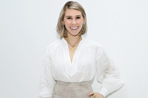 "Zosia Mamet Calls For ""Conscious Cohabitating"""