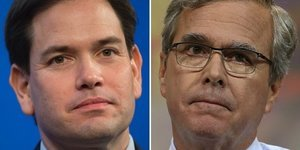 Relationship Sours Between Bush And Rubio As GOP Primary Heats Up