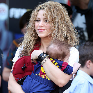 Shakira and Kids at Gerard Pique's Soccer Game April 2015