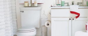 8 Ways to Make Your Tiny Bathroom Look Deceptively Large